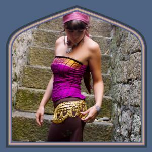 Brass belly chain