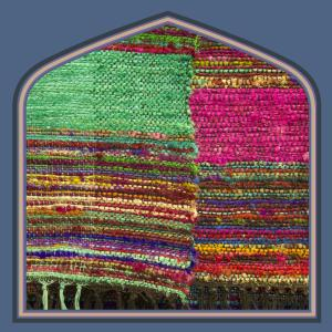 Handloom silk rugs